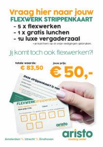 Flexwerkstrippenkaart Aristo meeting center